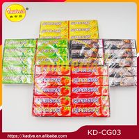 Super star sheet chewing gum