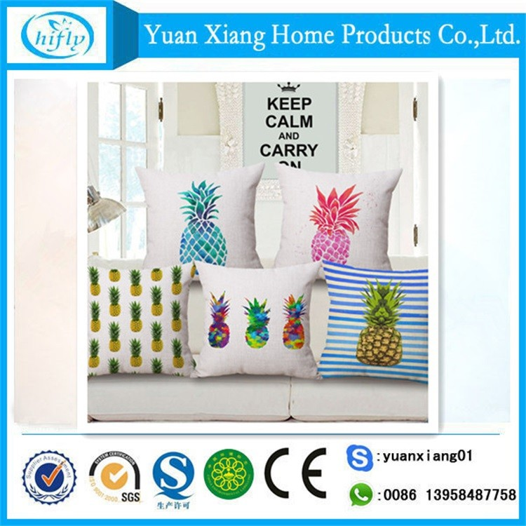 Latest fashion home textile decorative cushion pillow for chair