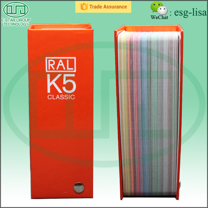 Wall Paint Color Chart RAL Color Chart K5