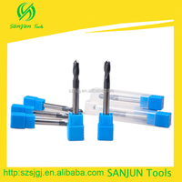 D6*75L*HRC45, cylinder solid carbide ball nose end mill cutter with introducing Professional equipment