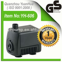 GS Approved Fountain Pumps(Model No.:YH-606)