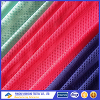 2016 stripe mesh fabric for sports jersey
