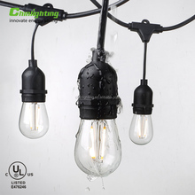 110V 120V Decorative garden christmas outdoor festival waterproof patio string light
