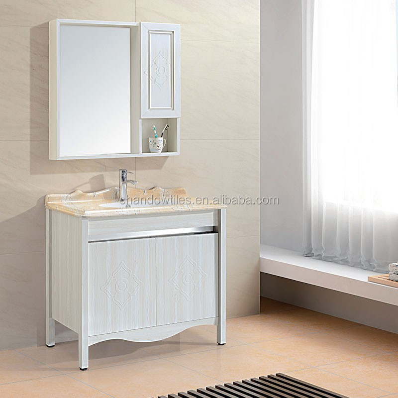 Gd8804 Curved Bathroom Aluminum Vanity Used Cabinet Buy