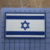 Sew on Custom Soft 2D/3D Israel PVC Rubber Flag Patch with Hook and Loop