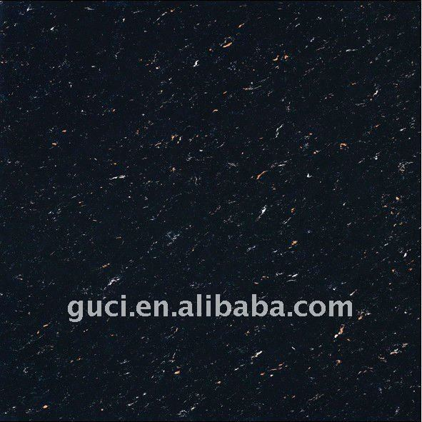 china supplier black color tiles Polished tile 24X24 porcelain tile