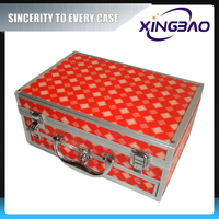 Pvc cosmetic case with drawer and mirror ,professional make up trolley case,pvc mesh cosmetic case