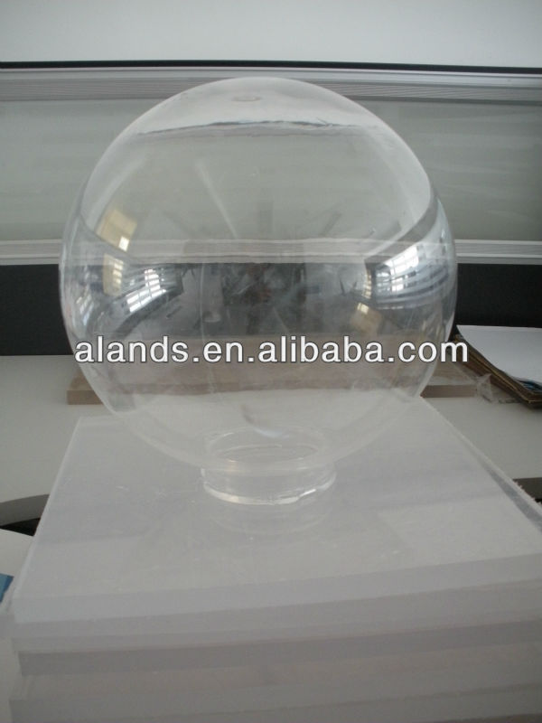 clear acrylic hollow plastic sphere