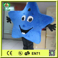 HI CE Top Sale Blue Star Mascot Costumes