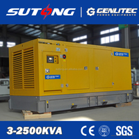 Weifang Ricardo 100kVA Silent Diesel Generator with transfer switch