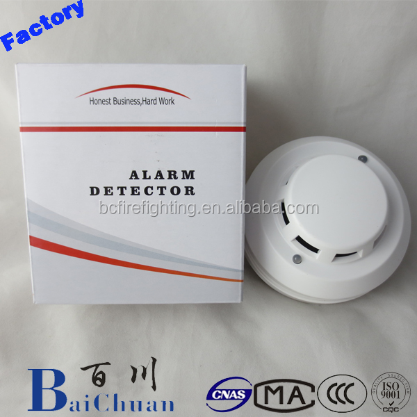 4 wired network type photoelectric smoke detector