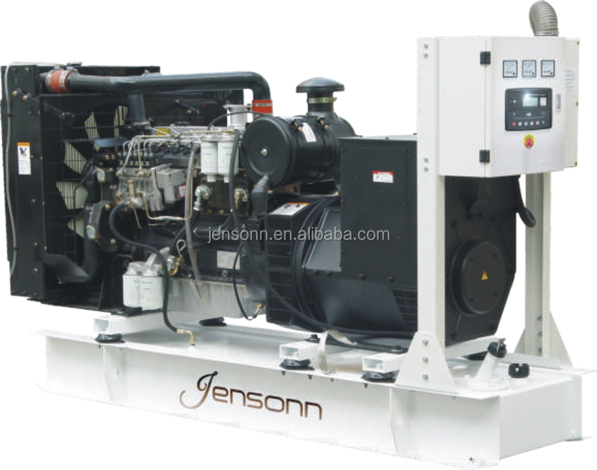 45 KVA high quality small diesel electric generator for emergency use with 1500rpm Perkims engine, Stamford alternator