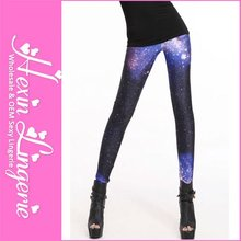 Whoelsale NO MOQ Limit 2012 Fashion Digital Print Galaxy Tights