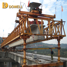 Construction launching bridge girder machine