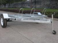 3 motorcycle brackets trailers,ribbed steel floor, cheap price bike trailers