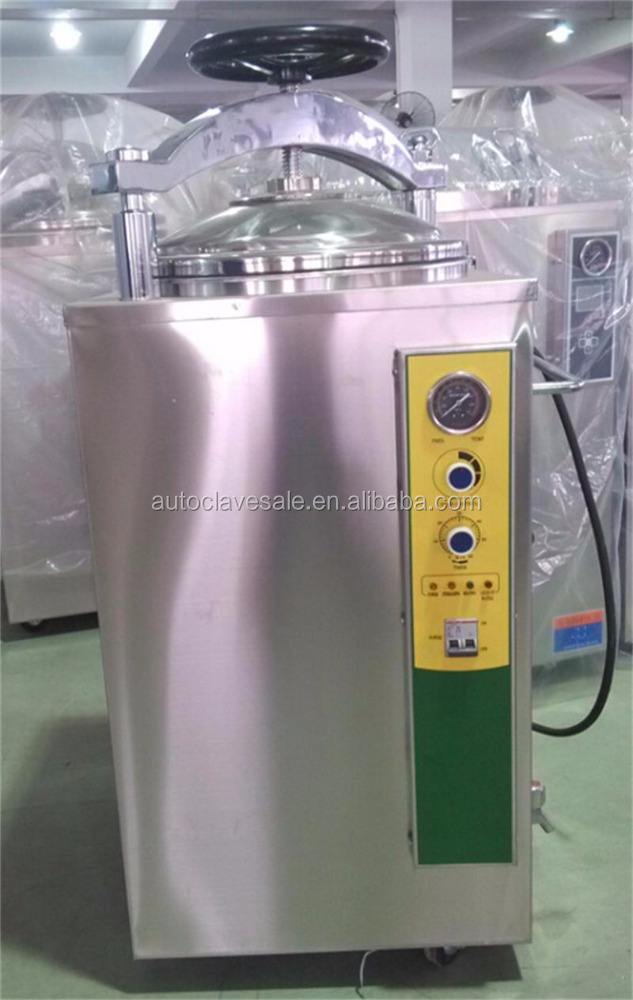 Bluestone Fully Stainless Steel Hand Wheel Type Autoclave