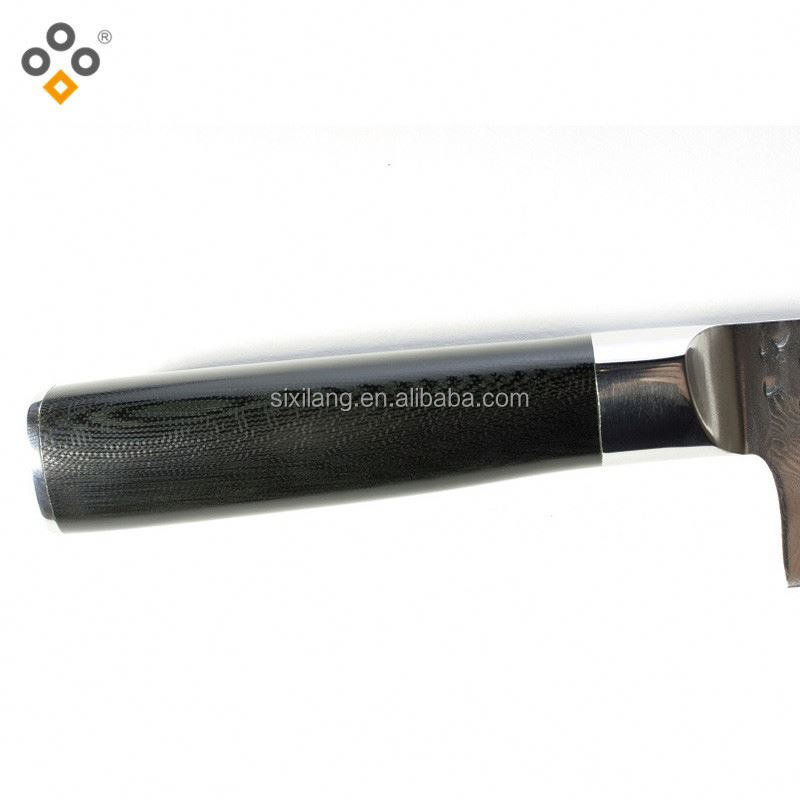 the <strong>best</strong> and cheapest wood grain handle forged pom stainless steel kitchen knife