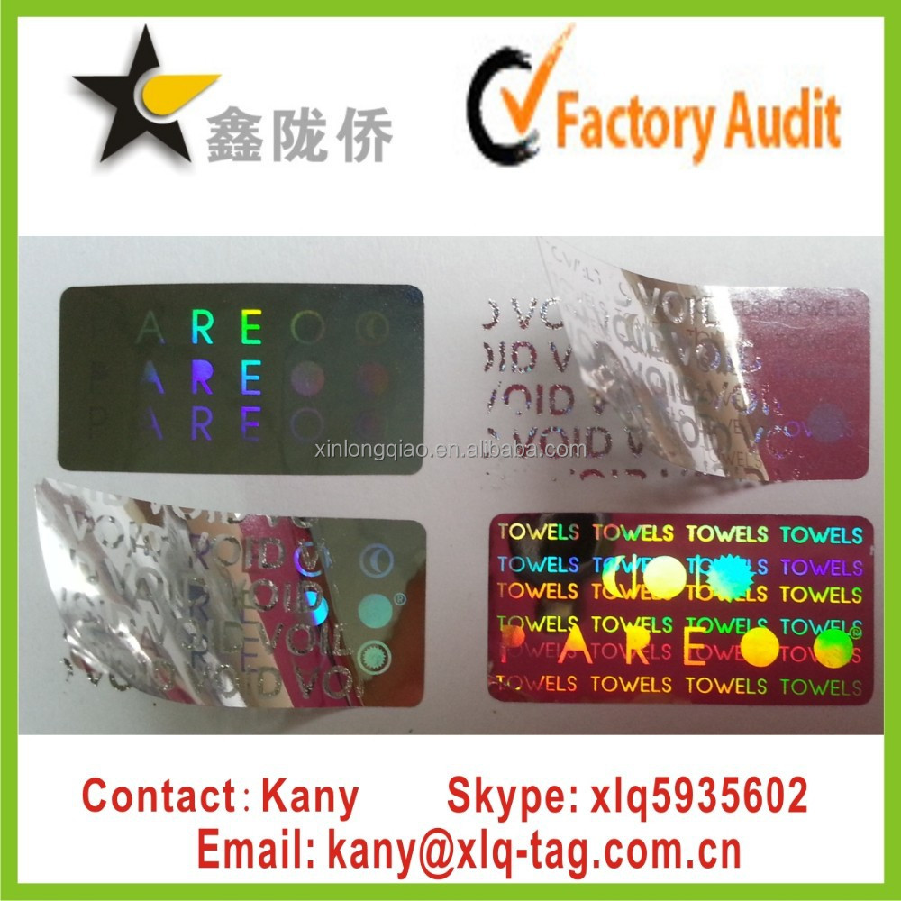 2015 Cheap wholesale warranty void if broken stickers,custom warranty sticker void if tampered