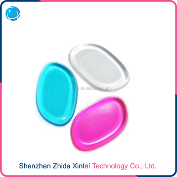 Wholesale Hot Sale 100% Silicone Makeup Power Puff