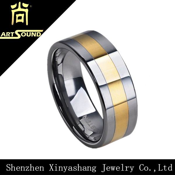 Latest sample engagement rings silver and gold ring design charm jewelry