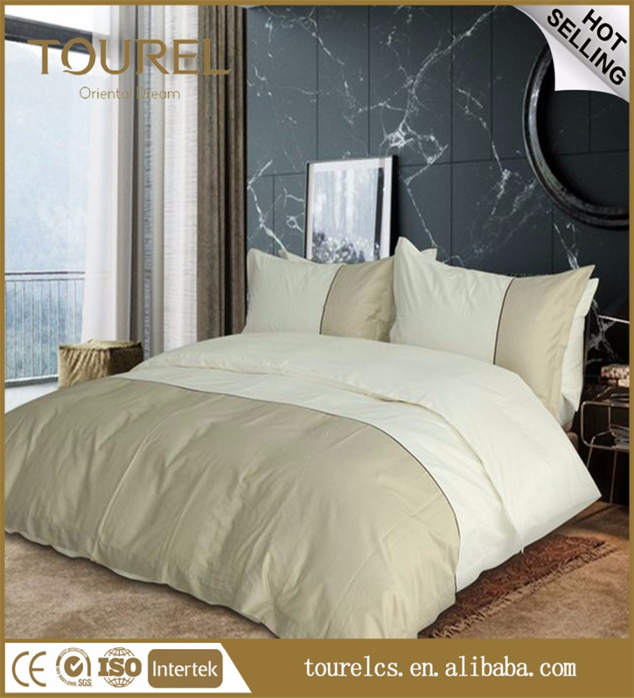 100% cotton green color hotel bed cover flat sheet/duvet/pillowcase duvet covers set