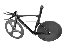 Baolijia 2016 New Time Trail frameset carbon tt bike frame FM087