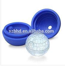Death Star Ice Ball Maker/Ice Cube Tray,Silicone Ice Tray/Chocolate Mold