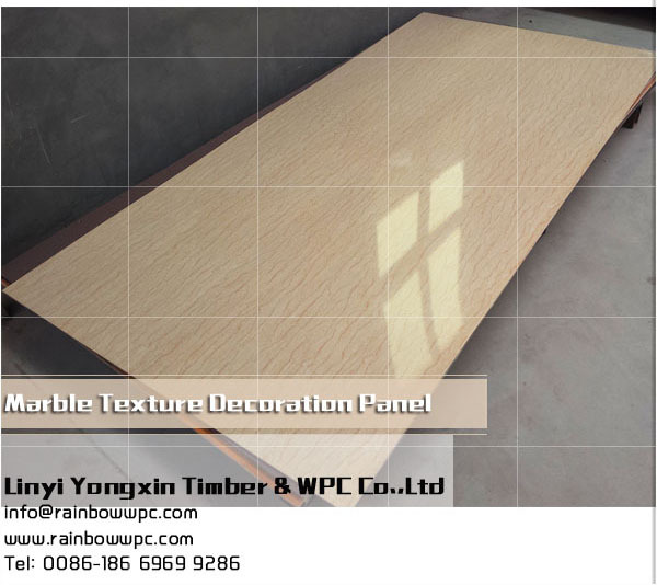 2016 Trade Assurance Wood Plastic Composite WPC Decorative Bathroom Wall Board / Panel