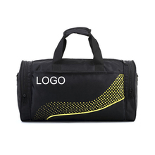 black carry on sport gym duffel bag for athlete
