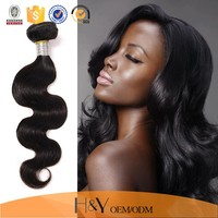 Grade 7A virgin remy hair body wave human hair extension, virgin indian remy hair for cheap