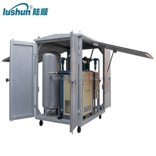 air filter cleaning machine oil dehydration filter/Single Case air Compressor with Storage Tank(GF )