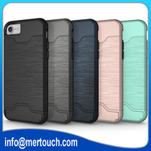 For iPhone 6S Plus Stand Armor case, TPU PC for iphone 7 Shockproof back case cover, case for iPhone 7plus