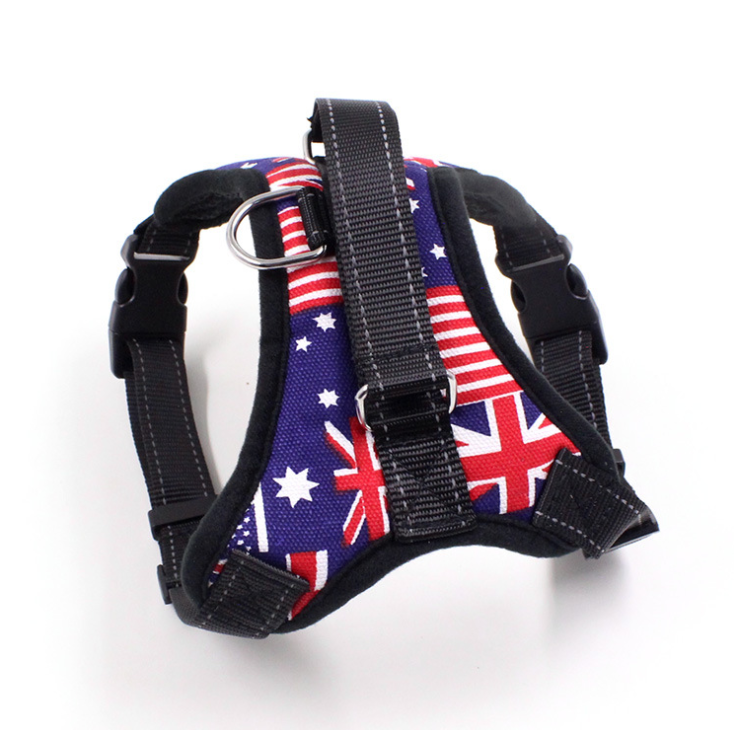 High Quality Outdoor Adventure Durable Adjustable No Pull Dog Harness