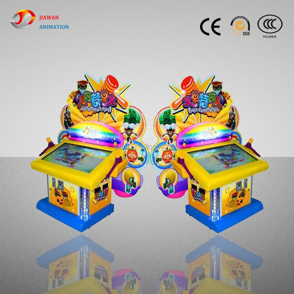 2016 Fruit commando coin operated amusment hammer gaming machine electronic game machine