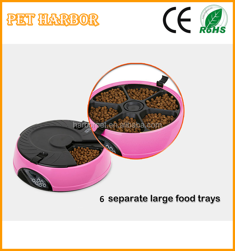 New wholesale automatic pet feeder timed food supply dog cat feeder