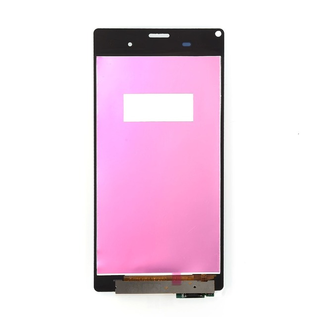 White LCD Screen Touch Digitizer Screen Assembly Replacement For Sony Xperia Z3 L55t D6603 D6653 LCD Free shiping