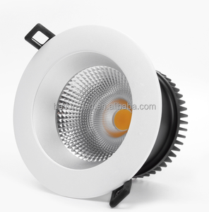 BESUN Dim to warm Norway 12W Indoor 4 inch IP44 Recessed COB LED Downlight with RA95 high lumens