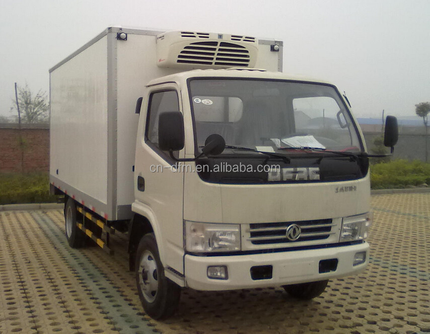 TOP Quality RHD Model Dongfeng 2T-3T small refrigerator truck for sale