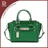 Green tote and shoulder pu cheap bags for women