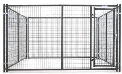 dog kennel buildings, lowes dog kennels and runs,10x10x6 foot classic galvanized outdoor dog kennel