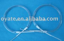 ring-like halogen quartz heating tube/infrared halogen lamp