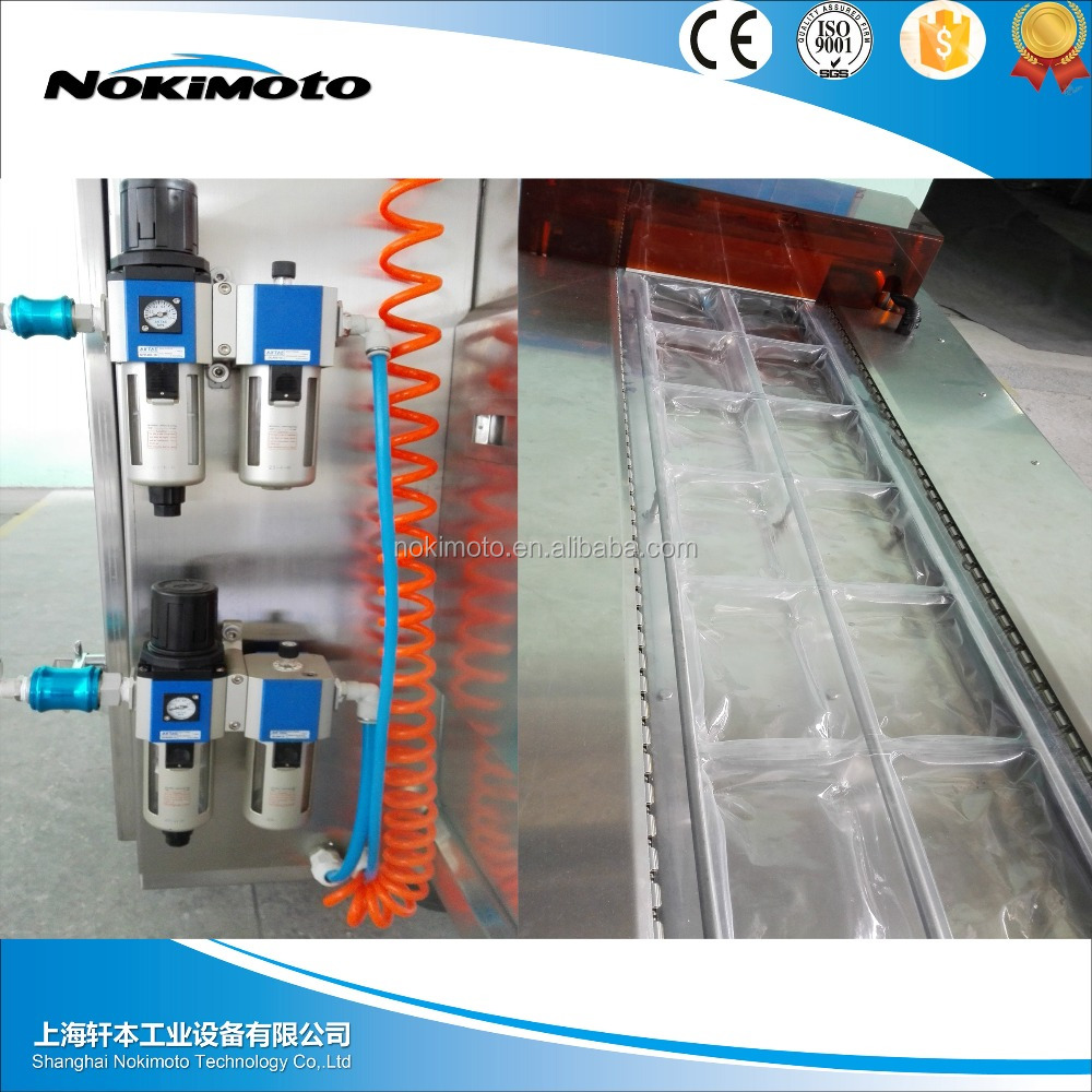 Customized in China smoking meat/fish and toufu Vacuum Thermoforming Packing Machine