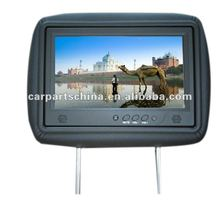 Best Selling ! 9 inch headrest with lcd monitor for taxi advertising