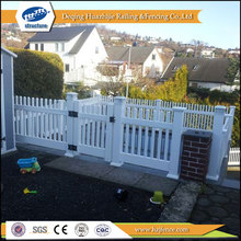 used pvc white color plastic fencing stakes