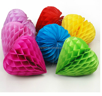 factory wholesale decoration tissue paper honeycomb balls