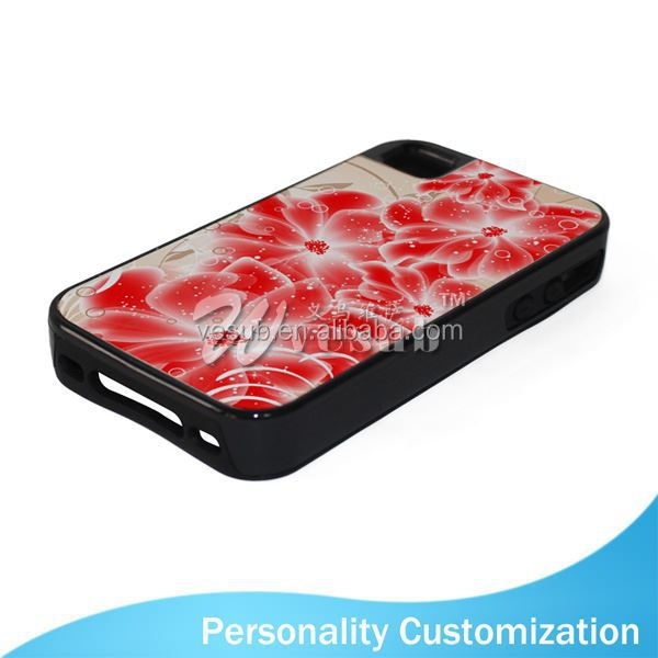2D Sublimation Blank Phone Case for Iphone 4 bottle opener phone case cover for Iphone