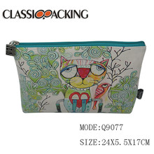Customization logo printed big pen package case kids wholesale pencil pouch