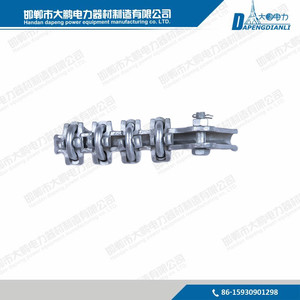 NLL Series Aluminum Alloy Bolted Strain Wire Rope Clamp for overhead power line
