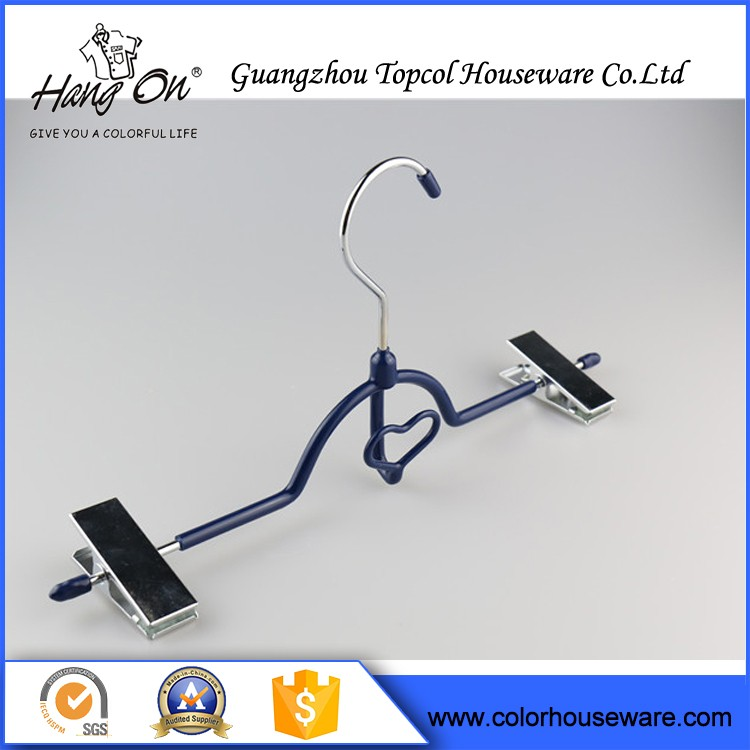 Pvc Coated Cheap Clothes Wire Hanger , Powder Coated Wire Hanger