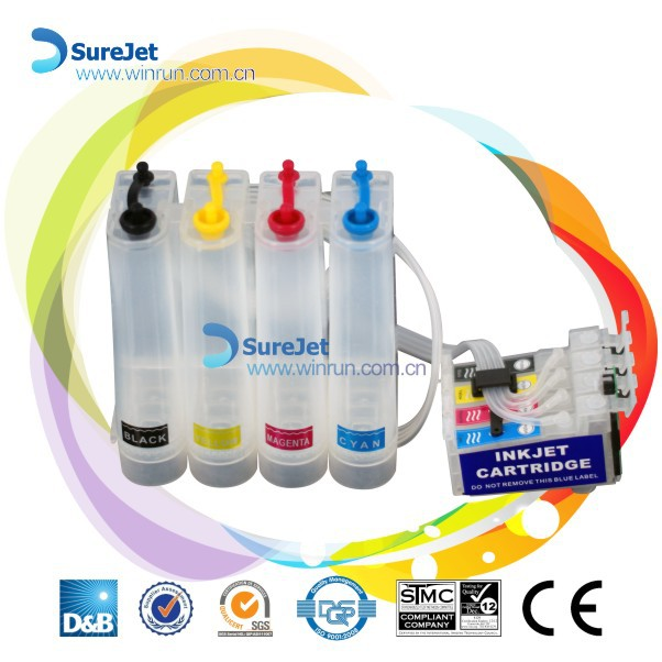 New Product! continuous ink supply system T2201 T2202 T2203 T2204 for epson wf-2630 wf-2650 wf-2660